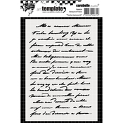 Handwritten Text - Carabelle Studio Template A6