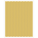 Chevron By Tim Holtz - Sizzix Texture Fades A2 Embossing Folder