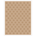 Dotted Bullseye By Tim Holtz - Sizzix Texture Fades A2 Embossing Folder