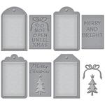 Christmas Tags - Spellbinders Shapeabilities Dies