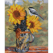 """11""""X14"""" 14 Count - Sunny Counted Cross Stitch Kit"""