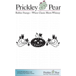 """Smiley Pumpkin Swag - Prickley Pear Cling Stamps 3.25""""X3.25"""""""
