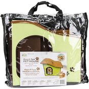 Green - Cat/Dog Life Home & Travel Pet House