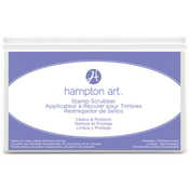 "Hampton Art Stamp Scrubber Cleaning Pad & Case 7.5""X4.5"""