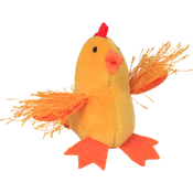 Chicken - Multipet Look Who's Talking Plush Toy 1.25""