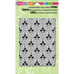 "Holly Background - Stampendous Cling Stamp 7.75""X4.5"""