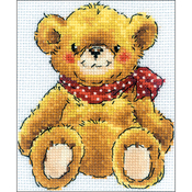 "4""X5"" 14 Count - Teddy-Bear Counted Cross Stitch Kit"