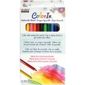 Assorted Colors - Color In Watercolor Pencil Set 12pcs