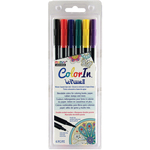 Primary - Color In Double-Ended Markers 6/Pkg