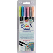 Pastel - Color In Double-Ended Markers 6/Pkg