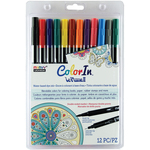 Primary - Color In Double-Ended Markers 12/Pkg