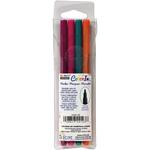 Bright - Color In Fine Tip Markers 4/Pkg
