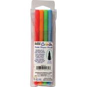 Neon - Color In Fine Tip Markers 4/Pkg