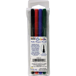 Primary - Color In Brush Tip Markers 4/Pkg