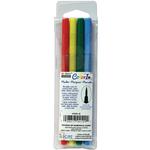 Bold - Color In Brush Tip Markers 4/Pkg