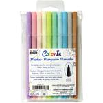 Pastel - Color In Fine Tip Markers 10/Pkg