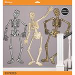 Day Of The Dead- Makes 3 Skeletons - Jolee's Halloween Decor Kit 93pcs