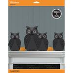 3D Spooky Owl - Jolee's Halloween Decor Kit 58/Pcs