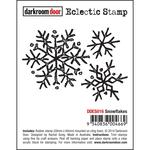 """Snow Flake - Darkroom Door Cling Stamp 3""""X2"""""""