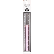 Size 0/1.75mm - Tulip Etimo Rose Steel Crochet Hook