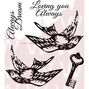 """Love Elements - Woodware Clear Stamps 3.5""""X3.5"""""""