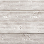 "12""X12"" Weathered White - Jillibean Soup Mix The Media Wooden Plank"