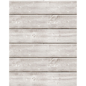 "18""X24"" Weathered White - Jillibean Soup Mix The Media Wooden Plank"
