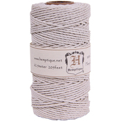White - Hemp Cord Spool 48lb 205'