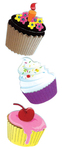 Cupcakes - Jolee's Dimensional Embellishments