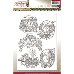 Christmas Greetings - Find It Trading Amy Design Clear Stamp