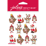 Holiday Animals - Jolee's Boutique Dimensional Stickers