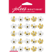 Gold & White Angel - Jolee's Boutique Dimensional Stickers