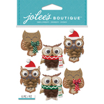 Pinecone Owl - Jolee's Boutique Dimensional Stickers
