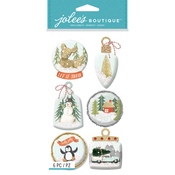 Ornament Snow Globes - Jolee's Boutique Dimensional Stickers