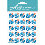 Blue Glitter Pacifier - Jolee's Boutique Dimensional Stickers