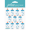 Baby Boy Bottle Dome - Jolee's Boutique Dimensional Stickers