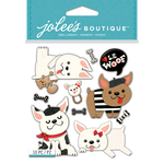 French Bulldogs - Jolee's Boutique Dimensional Stickers