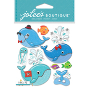 Cutesy Whales - Jolee's Boutique Dimensional Stickers