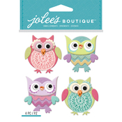 Cutesy Owls - Jolee's Boutique Dimensional Stickers