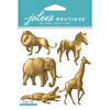 Gold Animals - Jolee's Boutique Dimensional Stickers
