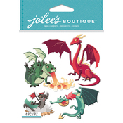 Dragons - Jolee's Boutique Dimensional Stickers