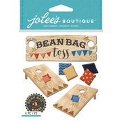 Bean Bag Toss - Jolee's Boutique Dimensional Stickers