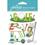 Golf - Jolee's Boutique Dimensional Stickers