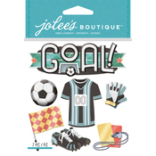 Soccer - Jolee's Boutique Dimensional Stickers