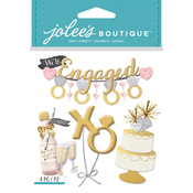 Engagement Party - Jolee's Boutique Dimensional Stickers