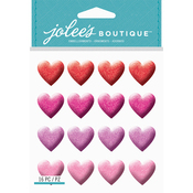 Glitter Heart - Jolee's Boutique Dimensional Stickers