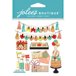 Mod Happy Birthday - Jolee's Boutique Dimensional Stickers