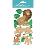 Lions - Jolee's Boutique Dimensional Stickers
