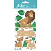 Lions - Jolee's Boutique Dimensional Stickers