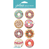 Donut Snow Globes - Jolee's Boutique Dimensional Stickers